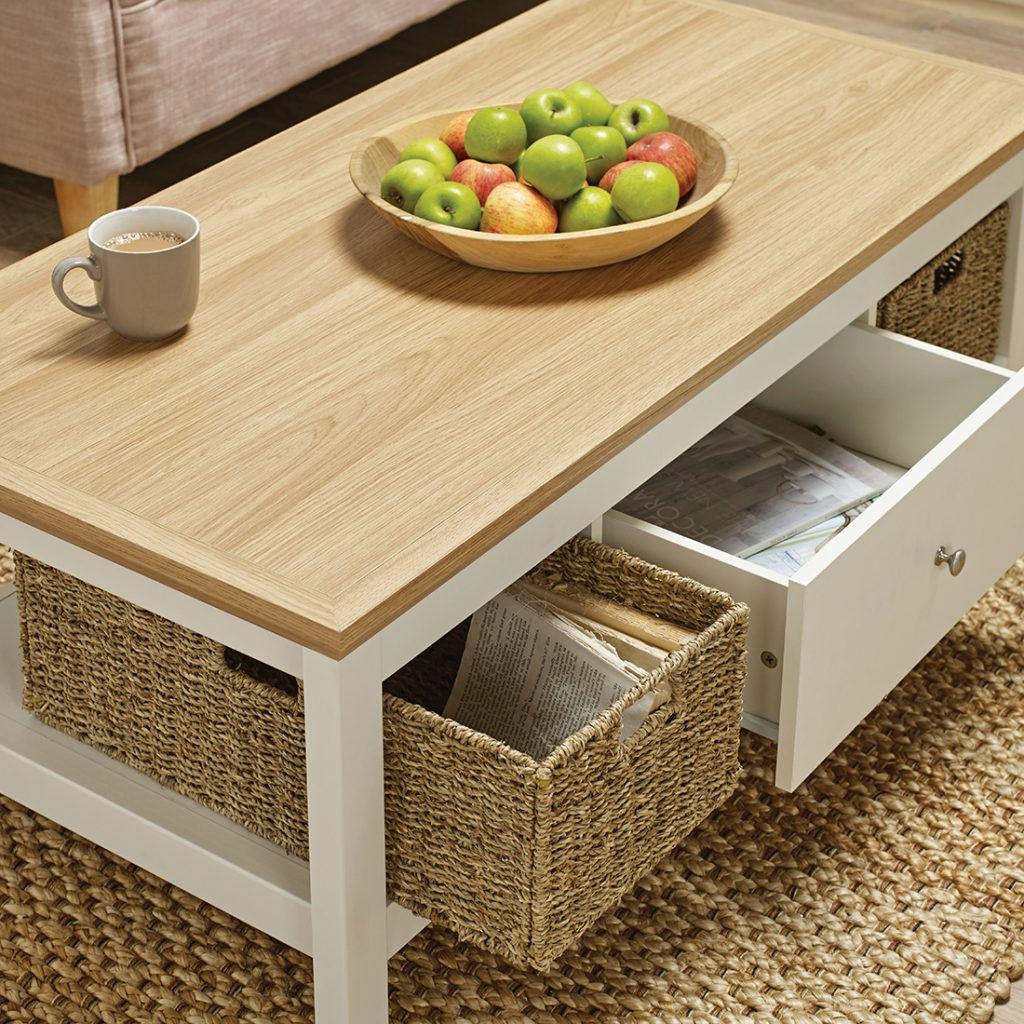 - Cotswold Coffee Table Cream - Browns Furniture