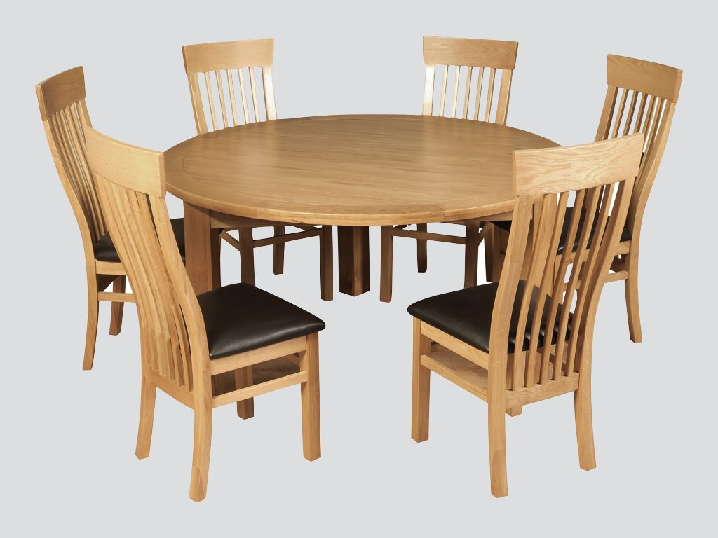 Treviso 150cm Round Dining Table Browns Furniture